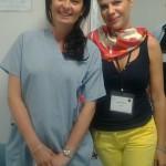 Împreună cu Laura Riezi, embriolog-şef la Genera